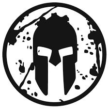 Logo Spartan Blanco